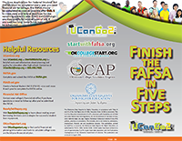 Finish the FAFSA in 5 Steps Brochure opens in a new tab