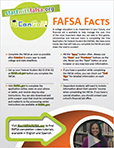 PDF of FAFSA Facts Flyer